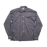 1960's COTTON B.D BOX SHIRT (MEDIUM)