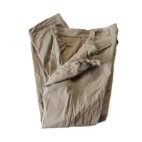 〜1960's FRENCH ARMY M-52 CHINO TROUSER (W33)