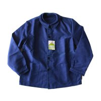 N.O.S 1950's〜 FRENCH BLUE MOLESKIN JACKET (LARGE)