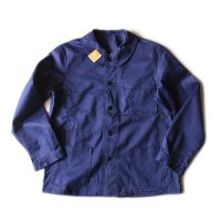 N.O.S 1950's LIGHT MOLESKIN FRENCH WORK JACKET (MEDIUM)
