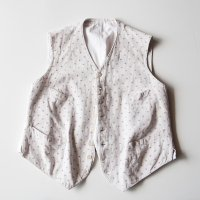 VINTAGE FRENCH WORK VEST (MEDIUM)