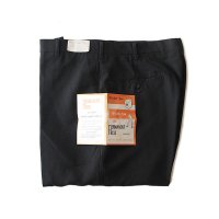 N.O.S 1960's SLIM FIT BLACK SLACKS (W33)