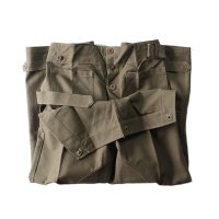 N.O.S FRENCH ARMY M38 MOTORCYCLE OVER PANTS (SIZE 2 & 3)