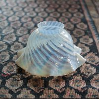 ANTIQUE TULIP SWIRL GLASS SHADE