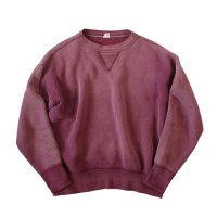 1950's FRONT V COTTON SWEAT SHIRT (LARGE)