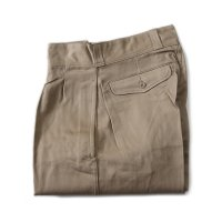 N.O.S FRENCH ARMY M-52 CHINO TROUSER (SIZE 12)