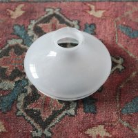 ANTIQUE BLURRED GLASS LAMP SHADE