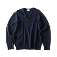 OLD CASHMERE WOOL V NECK SWEATER (LARGE) MINT CONDITION