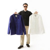 【ANK×LSP ANI TWILL】 COTTON TWILL TRADITIONAL COVERALL (BLACK)