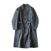 N.O.S 1940'S〜 FRENCH WORK CHAMBRAY COAT (LARGE)