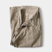 1950's FRENCH ARMY M-52 CHINO TROUSER (SIZE 25 W35.5 L26)