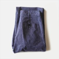 N.O.S AUTHENTIC FRENCH NAVY DENIM PANTS (W32)