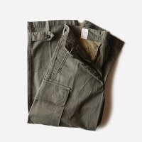 1950's FRENCH ARMY M-47 H.B.T TROUSER (SIZE 11) MINT CONDITION