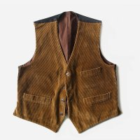 N.O.S 1950's FRENCH WORK GILET (LARGE)