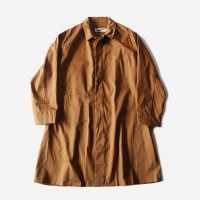 OLD ASYMMETRY POCKET SHOP COAT WITH CHANGE BUTTON