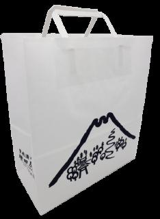 紙袋 富士山