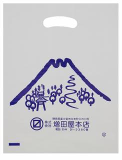 プラスチック袋 富士山