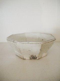 粉引八角小鉢
