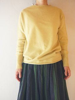 kotonウールカシミアクルーネックセーター