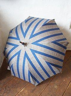 会津木綿日傘 ひじり縞