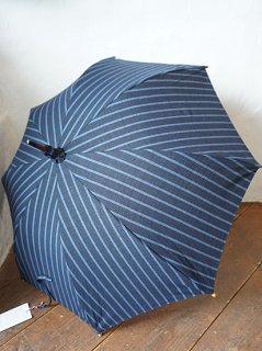 会津木綿日傘 大名縞