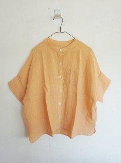 ヤンマ産業 リネンスタンドカラーシャツ