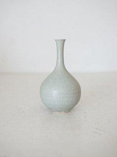 和田麻美子 花器(ブルーグレー系)1