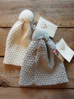 CINQ ハイランド2000 鹿の子編みニット帽