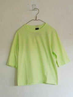 homspun (ホームスパン)天竺Tシャツ 六分袖