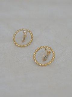 accessories mau つぶつぶイヤリングsilver