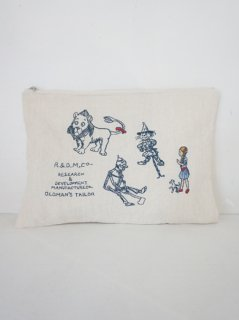 R&D.M.Co-(オールドマンズテーラー)oz embroidery pouch