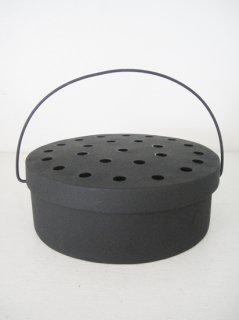 warang wayan 蚊取り線香入れ(黒丸)