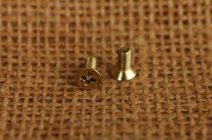 ネジ 真鍮無垢 3x8mm