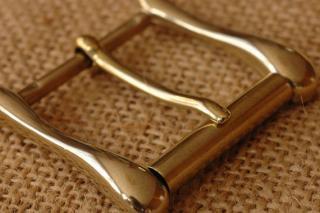 ITY ブラス バックル 4. 真鍮 35mm