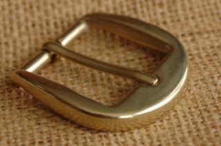 ITY ブラス バックル 5. 真鍮 30mm