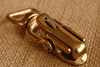 ブラストリッガーフック 1. 77x28mm(20mm) /brass trigger hook