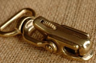 ブラストリッガーフック 2. 77x35mm(25mm)/brass trigger hook