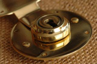 Brass Vintage Lock Made in England