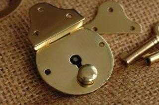 スモールブラスロック/ Small Brass Lock/イギリス製