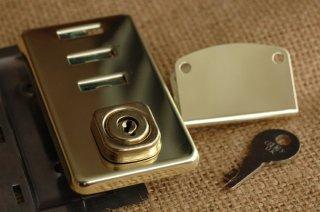 3段錠 真鍮(プレス)/チェイニー(CHENEY)社 イギリス製