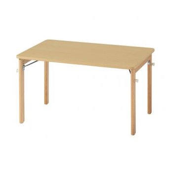折脚テーブル ココナ S34 90×60×34cm【別途送料、都度見積り】