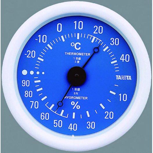 温湿度計 TT-515 ブルー
