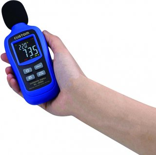 デジタル騒音計 SL-200U 【欠品中:7月下旬入荷予定】