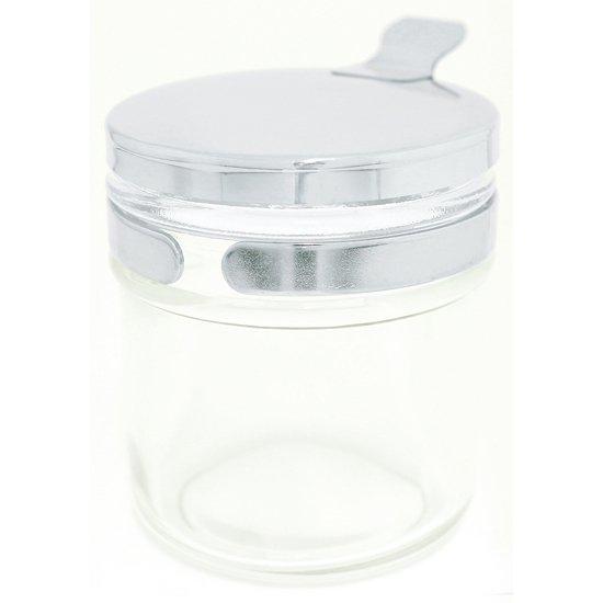 綿球容器 透明 100mL 透明