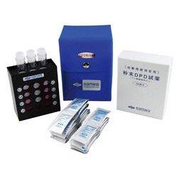 DPD法簡易型遊離残留塩素測定器 粉末タイプ