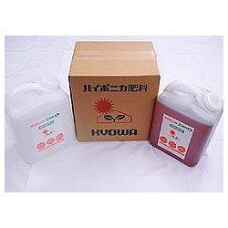 水耕栽培用 ハイポニカ液肥 A液B液各4L 2本セット 4L