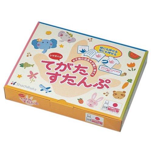 てがたすたんぷセット ブルー/オレンジ/グリーン/ピンク