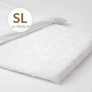 綿フラットシーツ シングルロング153×270 日本製(100x210cm用)