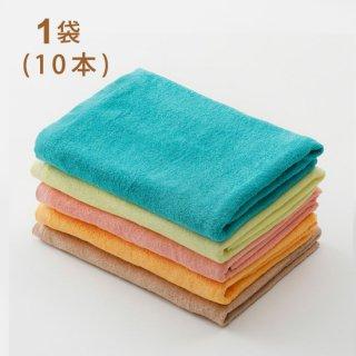 スレン染カラーバスタオル 1000匁  1袋(10枚)