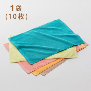 スレン染カラーバスマット 700匁  1袋(10枚) ベトナム製